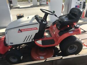 "Allis Chalmers  23hp 42"" Riding Lawn Garden Tractor Mower OBO"
