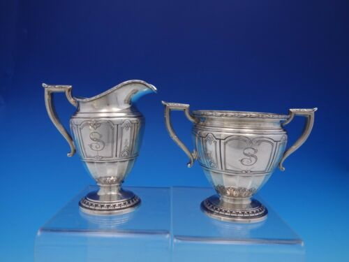 Princess Patricia by Durgin-Gorham Sterling Silver Sugar and Creamer Set (#4458)