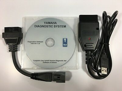 For Yamaha YDS Diagnostic cable set for Outboard / WaveRunner / Jet boat