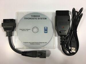For Yamaha YDS Diagnostic cable set for Outboard / WaveRunner / Jet boat