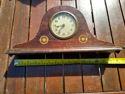 Napoleon Hat Mantel Clock mains spring has sprung out so spares repair