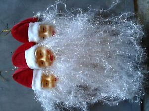 Brand New Santa Head Ornaments
