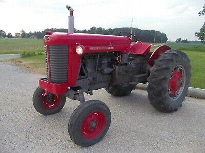 Massey Ferguson 85 Wide Frontend Tractor Runs Good Live 2sp Pto Hydraulics 3pt