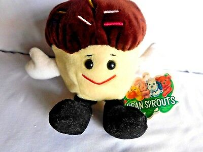 Advertising Stuffed Animal Plush Dolls Bean Sprouts Sprinkles Entenmann's
