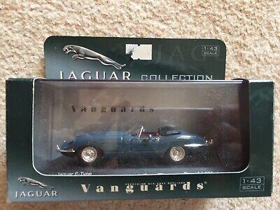 Vanguards Jaguar collection Jaguar E-Type Cotswold Blue 1:43