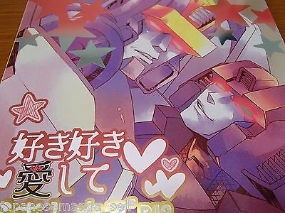 Doujinshi Transformers yaoi Astrotrain X Skywarp (B5 48pages) heinel Sukisukiais
