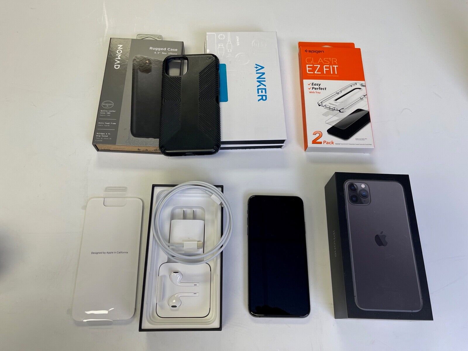 Apple IPhone 11 Pro Max 256 GB Space Gray A2161 CDMA GSM Unlocked From AT T - $850.00