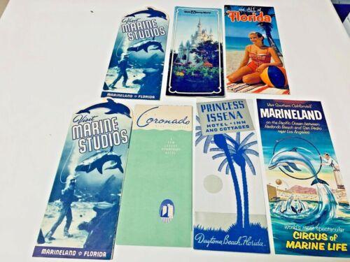 VINTAGE MIXED  LOT OF TRAVEL BOOKLETS  FLORIDA SET 2