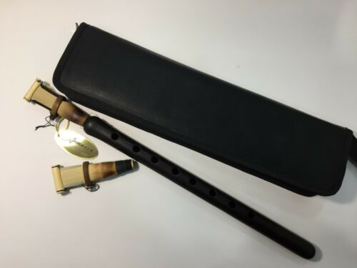 Professional apricot DUDUK by K.Mikaelyan complete with 2 reeds and leather case