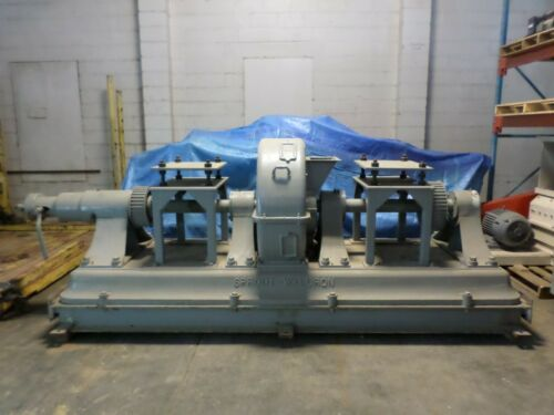 """SPROUT -WALDRON ? Sprout Bauer,  36"""" DH DOUBLE RUNNER ATTRITION MILL"""