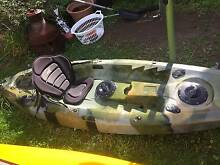 3 Metre Fishing Kayak only used 5 times Berkeley Vale Wyong Area Preview