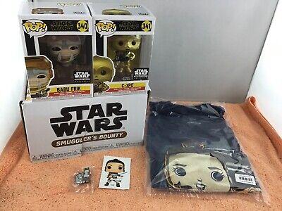 Funko Pop Star Wars Smuggler's Bounty 5pc Box Set - NOB