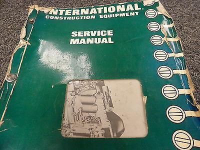 International Ih 175 175b Loader Td15b Crawler Tractor Service Repair Manual