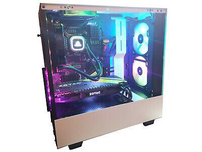 i7-9700K LIQUID COOLED CUSTOM GAMING COMPUTER GTX 1080 32GB DDR4 1TB SSD 2TB HDD
