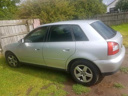 Audi 2002 for sale, rego for 16/05/2018. No RWC  but no concern.
