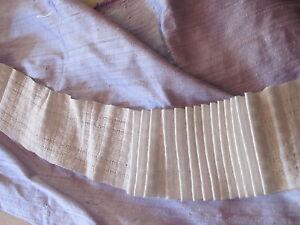 ruflette blanche galon fronceur pour rideaux 7 cm de large au m tre ebay. Black Bedroom Furniture Sets. Home Design Ideas