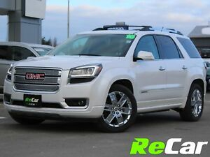 2016 GMC Acadia Denali AWD | HEATED/COOLED LEATHER | NAV | DVD