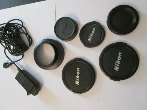 Lot of Vintage Nikon Camera Accessories