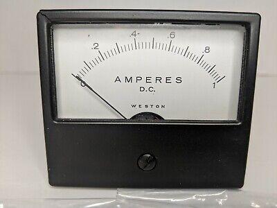 Weston Square Panel-mount Meter D.c. Amperes