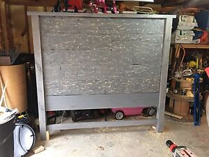 Custom hand made headboard for sale- king