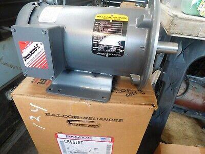 Baldor Electric Motor 3hp Usa 3 Phase Cm3610t 3450 Rpm 182tc Frame