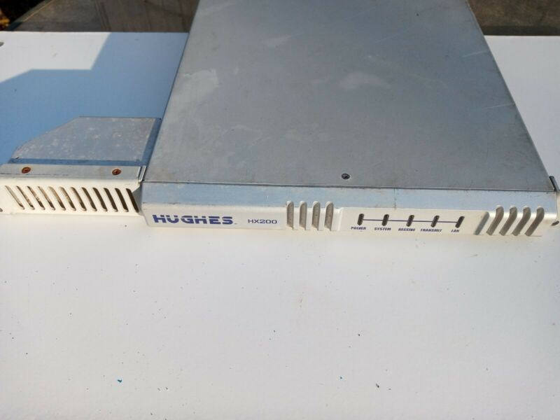 MODEM/ROUTER: HUGHES MODEL HX200, HIGH- bandwidth + PERFORMANCE SATELLITE ROUTER