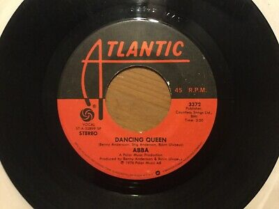 "ABBA ""Dancing Queen""/ ""That's Me"" 45 on ATLANTIC Label...70's Disco HIT"