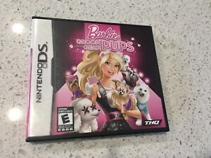 Nintendo DS Barbie Groom and Glam Pups