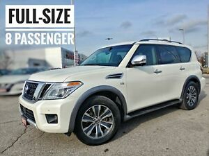 2017 Nissan Armada SL Massive List of Features FREE Delivery