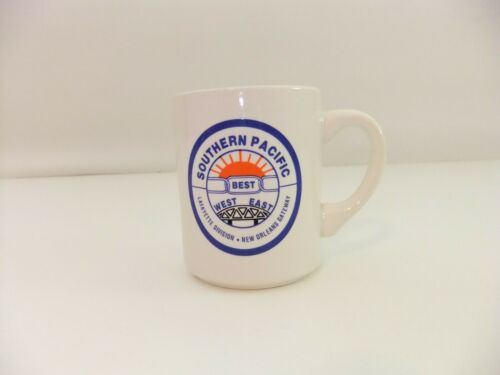Southern Pacific Railway BEST East West Lafayette Division New Orleans Mug