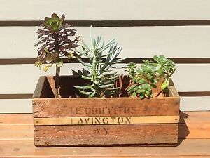 Vintage Industrial Wooden Crates Alphington Darebin Area Preview