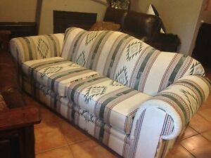 Soutgwes couch and loveseat