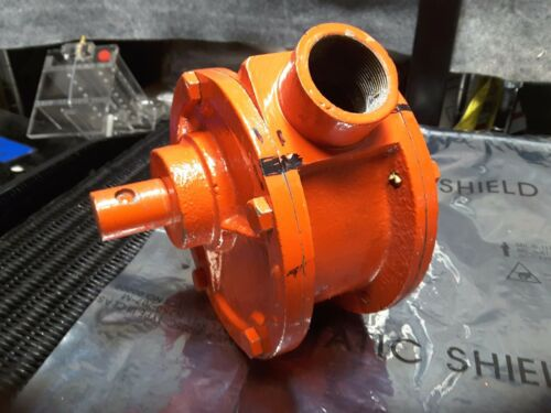 "1.25"" ORANGE HEAVY METAL GATE VAVE MANIFOLD ( 1.25"" IN)  ( 1.00"" OUT )  NEW $149"