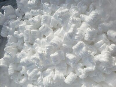 4 Cubic Feet White Packing Peanuts Shipping Anti Static Loose Fill 30 Gallons