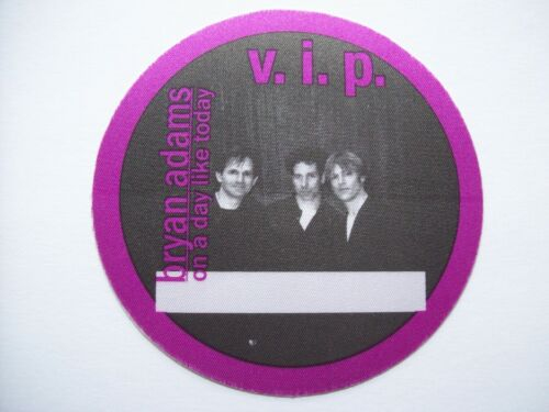 Bryan Adams VIP Backstage Concert Pass Original On A Day Like Today Vintage NOS