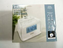 Homedics SS-4520 Sound Spa Dual Alarm Clock Radio w/Projection & Nature Sounds