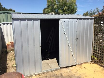 Galvanised garden shed 3m X 3 m Port Kennedy Rockingham Area Preview