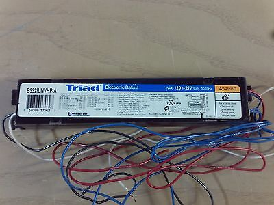 Triad B332IUNVHP-A Electronic Ballast 120-277V  #1B-1435-G12