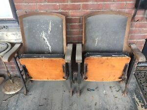 Turn of the century theater chairs