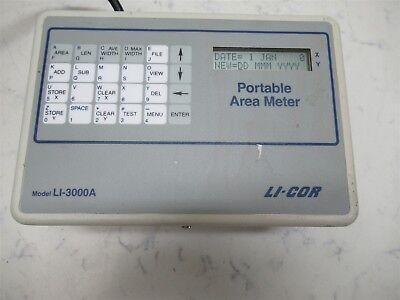 Li-cor Li-3000a Portable Area Meter Agronomy Botany Lab Unit