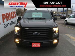 2016 Ford F-150 XLT CREW CAB, 4X4, TOW PACKAGE, SPORT PACKAGE