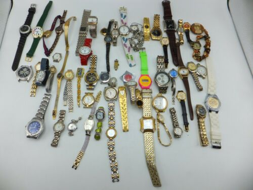 Lot Of 50+ Anne Klein II, Geneva Womens / Mens Fashion Watches - Sold As-Is