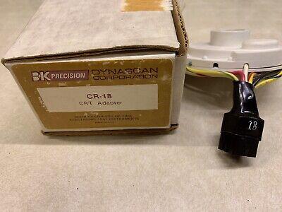 Bk Cr-18 Crt Test Adapter - For Precision 467 470 480 490 Testerrejuvenator