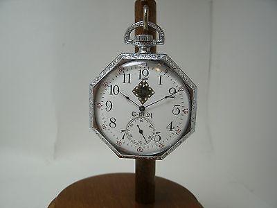 1906 Waltham Pocket Watch  Greek Symbols Dial   Running Fine