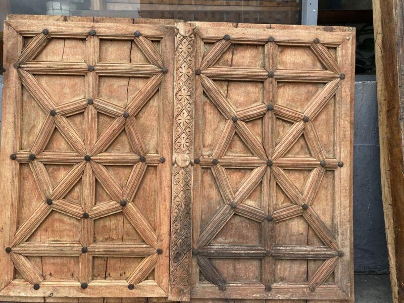 Rustic Wood Doors Tunisian Moroccan Style Cupboard Doors Old Mexico  36x46