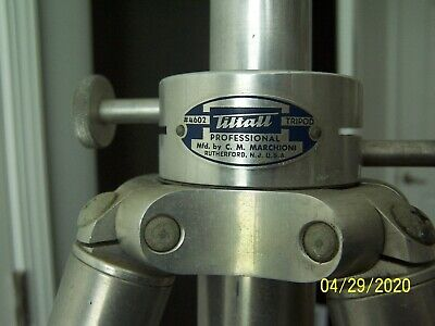 MARCHIONI Tiltall #4602 Professional camera tripod, top of the line made in USA