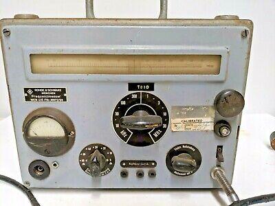 Rohde Schwarz Frequency Meter 435 Rare Vintage Htf