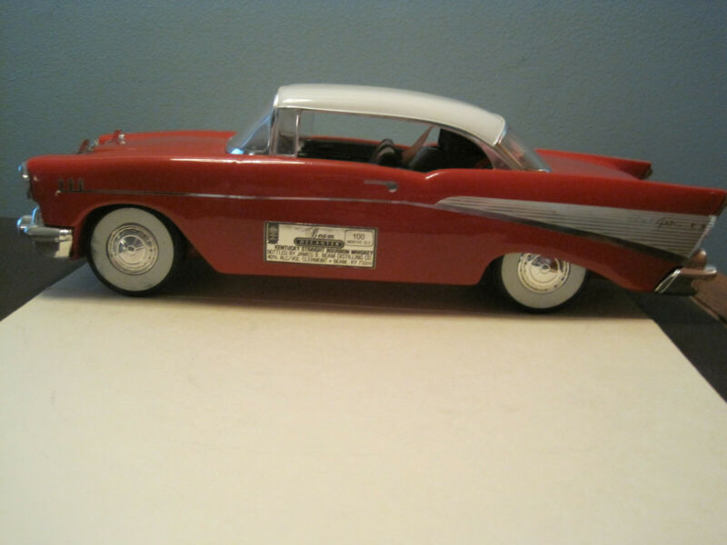 Jim Beam Car / 1957 Chevy Bel Air / Red / Box / Papers