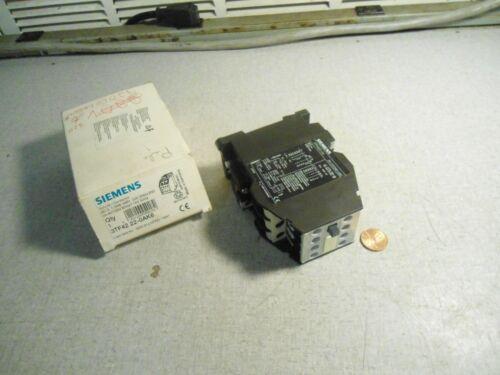 Siemens 3TF4222-0AK6 Contactor