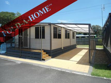 FOLD A HOME - TOWABLE, REGISTRABLE, AFFORDABLE 2 BEDROOM HOME